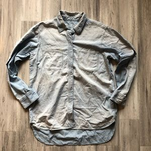 Madewell Light Denim Button Down Shirt